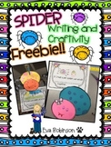 Spider Writing/Craftivity FREEBIE