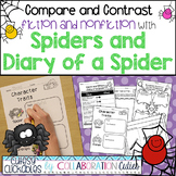 Spiders and Diary of a Spider Fiction & Nonfiction Compari