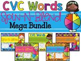 Spin-N-Blend CVC Words {Mega Bundle}