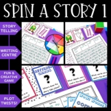 Spin-a-Story Creative and Funny Storytelling! ELA Center Set 1
