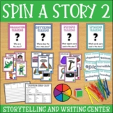 Spin-a-Story Creative and Funny Storytelling! ELA Center Set 2