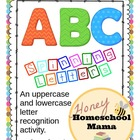 Spinning Letters - A Letter Recognition Activity - File Fo