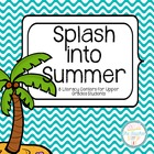 Splash into Summer Literacy Centers - Comprehension and Wo