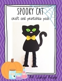 Spooky Cat: Halloween craft & printable pack