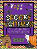 Spooky Centers: Halloween Literacy and Math Centers
