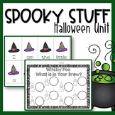 Spooky Stuff {A Halloween Unit}