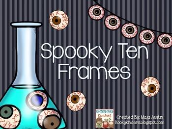 Spooky Ten Frames