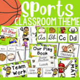 Sport Themed Classroom Decor and Organizational Pack