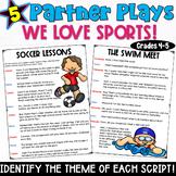 Sports Partner Plays- a set of five scripts for grades 4-5