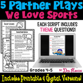 Sports Partner Plays- a set of five scripts for grades 4-5