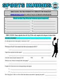 Sports Webquest and Vocabulary