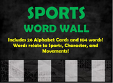 Sports Word Wall