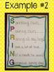 Spring Acrostic Poem Template {FREE!}