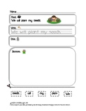 Spring Bell Work - Read, Write, Draw Mini-Packet