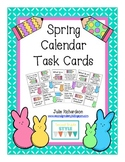 Spring Calendar Task Cards