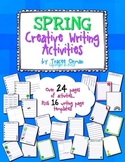 No Prep Spring Creative Writing Activities & Handouts