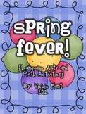 Spring Fever {Language Arts and Math Centers}
