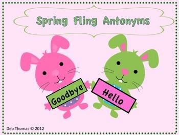 Spring Fling Antonyms
