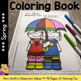 Color For Fun - Spring - Coloring Pages - Printables