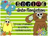 Spring Into Nonfiction {3 Craftivities to Explore Nonfiction}