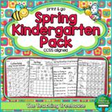 Spring Kindergarten Pack ~ Print & Go ~ CCSS Aligned