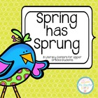 Spring Literacy Centers - Comprehension and Word Knowledge