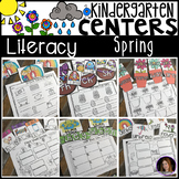 Spring Literacy Centers for Kindergarten
