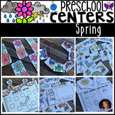 Spring Math and Literacy Centers for Preschool