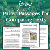 Spring Paired Passages for Comparing Texts