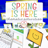 Spring: Preschool, Pre-K and Kindergarten Resources