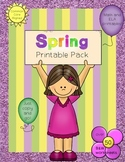 Spring Printable Pack ~ Over 50 Printables to cover tons o
