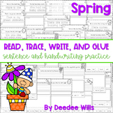 Spring: Read, Trace, Glue, and Draw