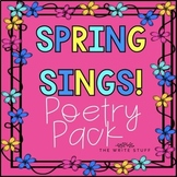 POETRY - Spring Sings Poetry Pack- TheWriteStuff