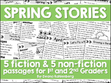 Spring Stories {5 Fiction & 5 Non-Fiction Stories)