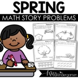 Spring Story Problems {addition & subtraction to 10}