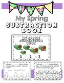 Spring Subtraction Mini Book