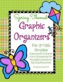 Spring Themed Graphic Organizers