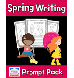 Spring Writing Prompt Pack (Color-and-Write)