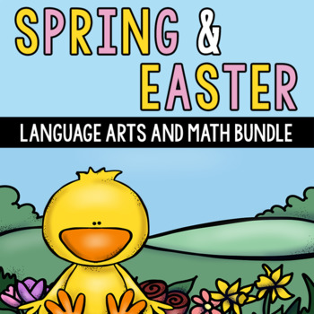 Easter and Spring Math and Language Arts