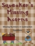 Squeaker's Missing Acorns