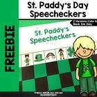St. Paddy's Speecheckers!