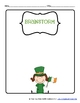 St. Patrick's Day: A differentiated writing resource for g