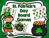 St. Patrick's Day Board Games FREEBIE