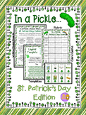 St. Patrick's Day Card Game, Writing Choice Board Activiti
