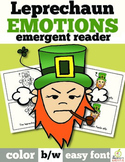 St. Patrick's Day Emergent Reader: Leprechaun Feelings/Emotions