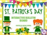 St. Patrick's Day Interactive Bulletin Board