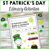 St Patrick's Day Literacy Pack - 10 Fun Holiday Literacy W
