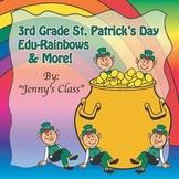 """3rd Grade St. Patrick's Day Common Core Math NO PREP """"Edu-"""