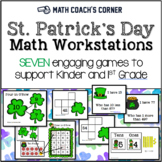 St. Patrick's Day Math Workstations: Common Core Aligned