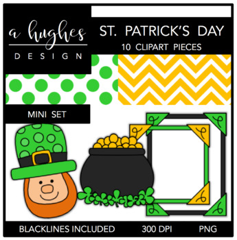 St. Patrick's Day Mini Set {Graphics for Commercial Use}